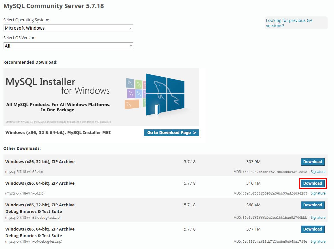 how to start mysql server windows 7