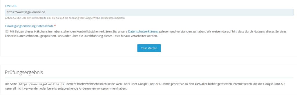 Google Font API Test
